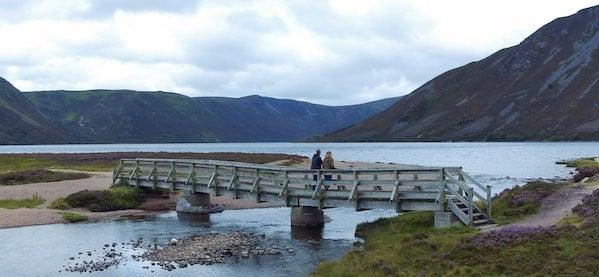 Loch Muick bridge