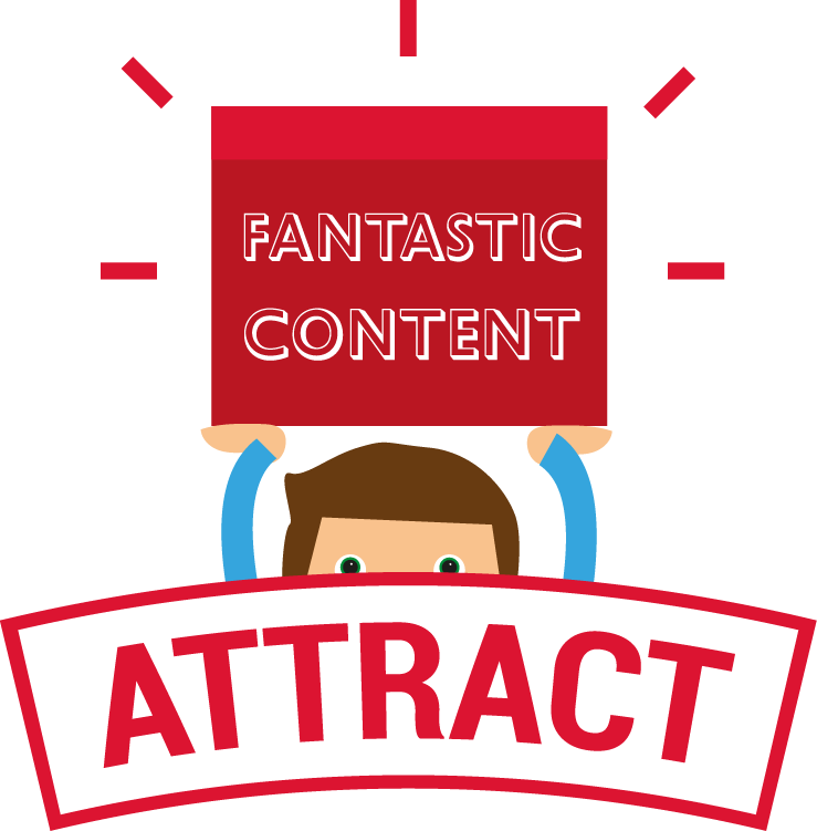 attract customers with great content