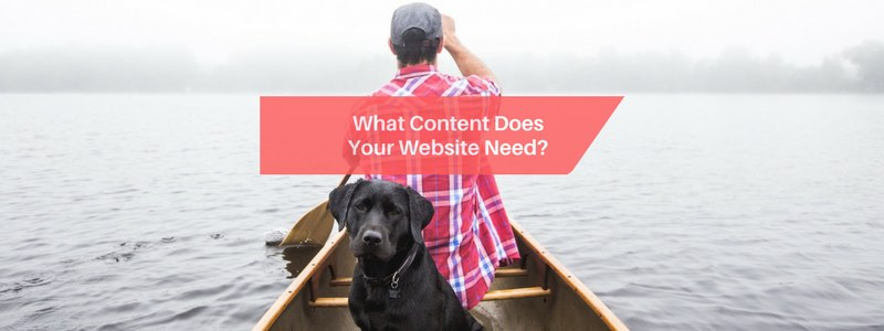 what content does your website need?