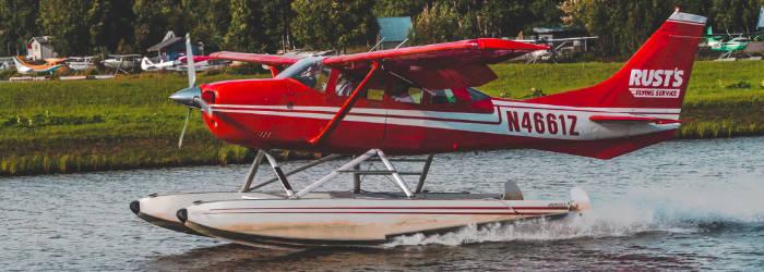 landing sea plane