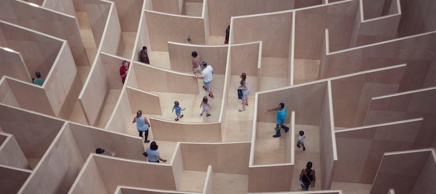 maze by susan-yin