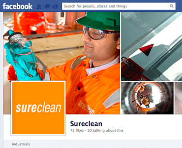 Sureclean on Facebook